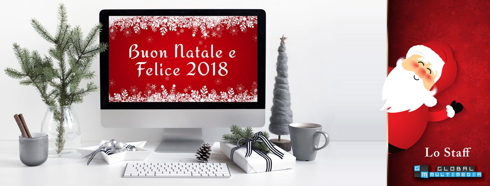 Buon Natale Anno Nuovo.Lo Staff Della Global Multimedia Vi Augura Buon Natale E